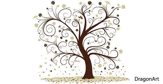 clip art free swirl lawn wind
