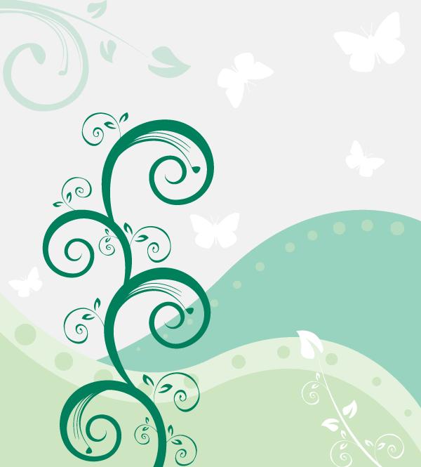 emerald wallpaper pattern