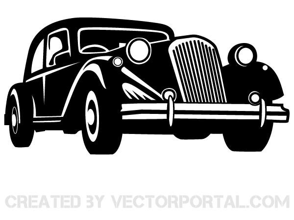 Classic Car Free Vector