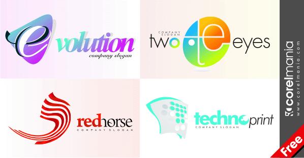 520 logo templates vectors download free vector art graphics